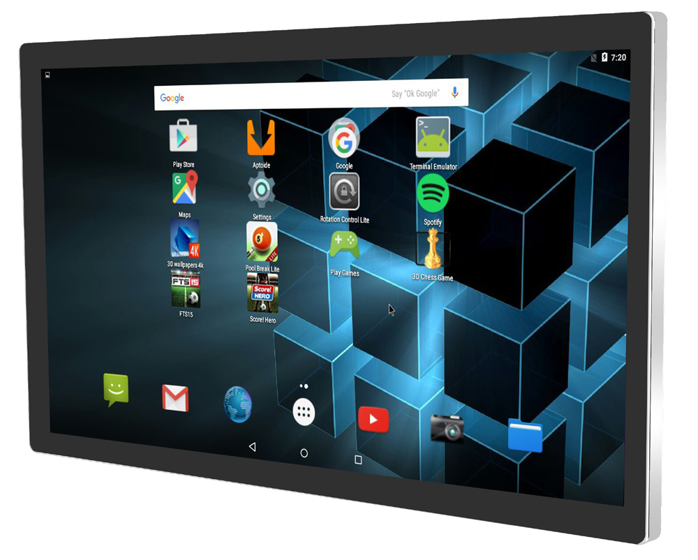 Large screen android tablet